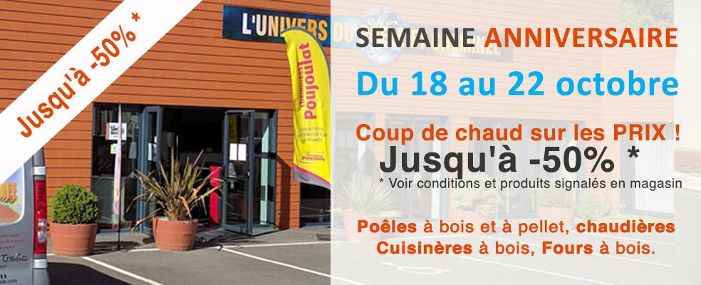 Univers du Poêle à Niort, Semaine anniversaire 2016