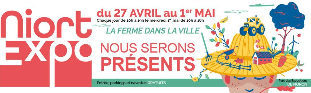 Niort EXPO 2019 du 27 avril au 1er Mai